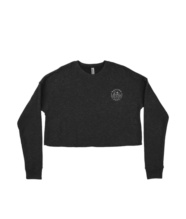 Sundowner Cropped Sweater Front