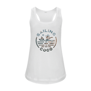 coco by bamboo ladies vest front