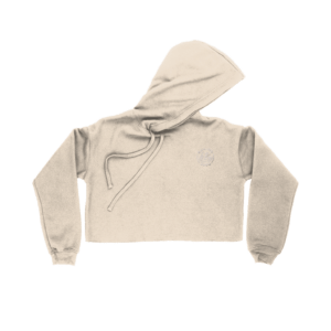 cropped coco hoodie front