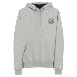 champ hoodie black grey