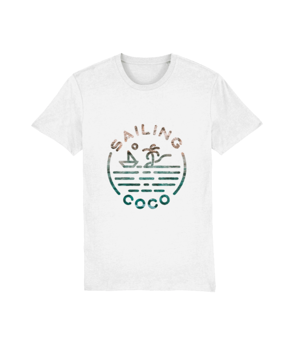 rock and sea tee front